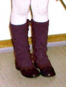 Funkenmarie-Stiefel in Eigenkreation - Foto Nicole Arnold
