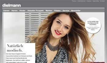 Webseite von Dielmann