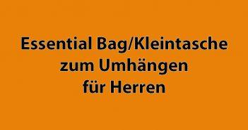 Kleintasche, Essential Bag, kleine Umhängetasche für Herren