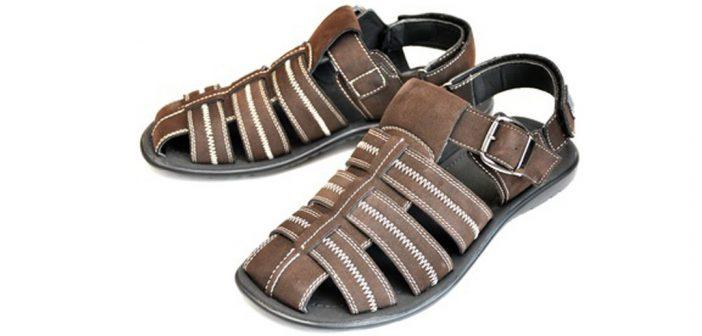 Sommer-Herrenschuhe - Sandalen