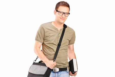Colol und praktisch - Herrentaschen zum Umhängen