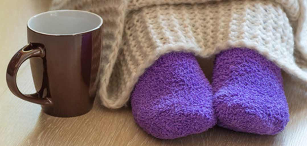 Kalte und nasse Füße