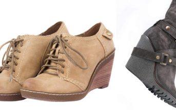 Keilabsatzschuhe - Schuhe und Stiefel als Wedges