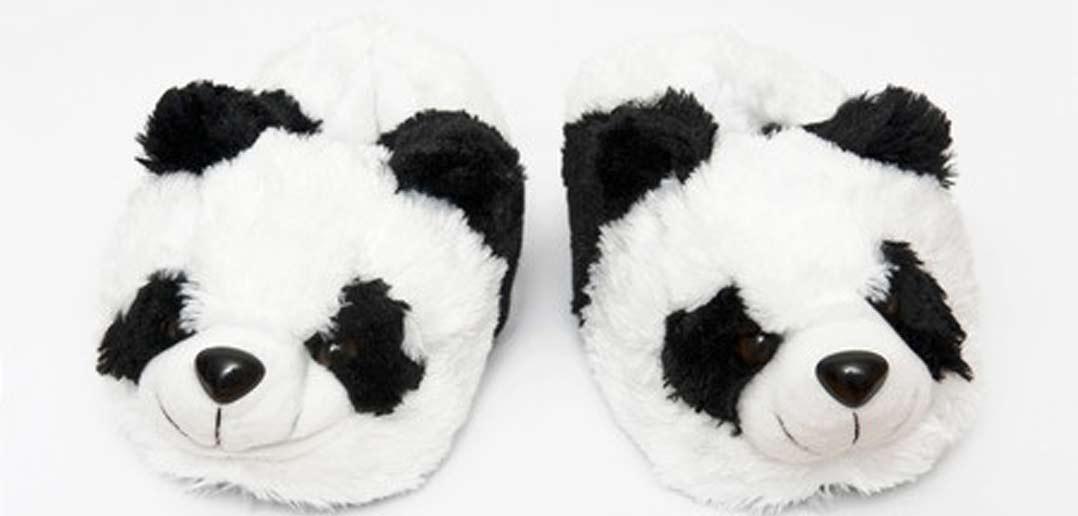 Lustige Hausschuhe für Kinder mit Tiermotiv