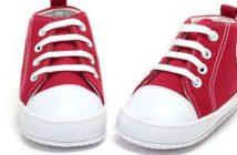 Beliebte Kinderschuhe sind Sneaker