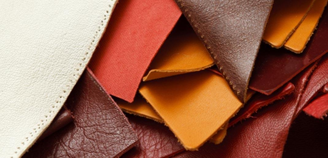 Leder - Rohstoff für Tasche und Schuhe