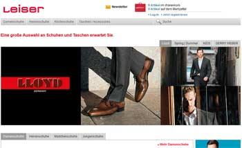 Webseite von Leiser