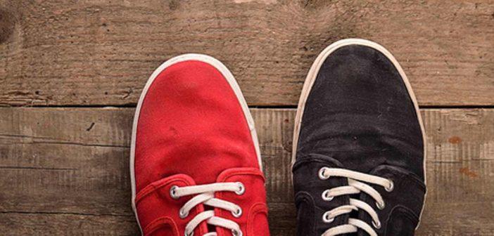 Trendcheck: Mismatched Shoes – zwei verschiedenfarbige Schuhe