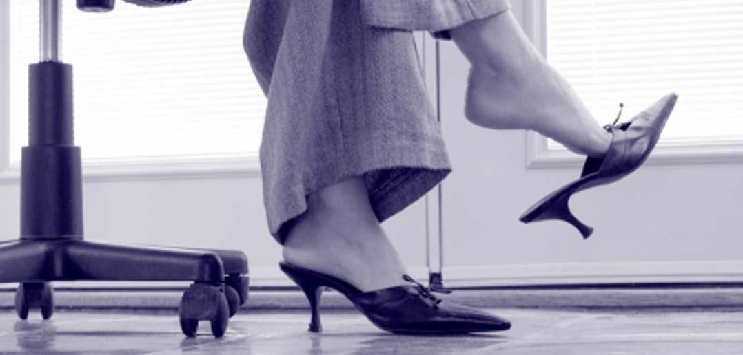 Mules - offene Schuhe aus Frankreich