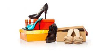 Ordnungssystem Schuhkartons