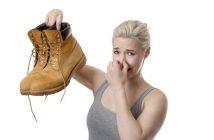 Geruchsproblem: schwitzende Füße
