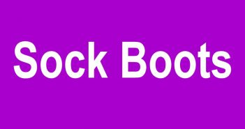 Sock Boots - Stiefel mit Textilschaft
