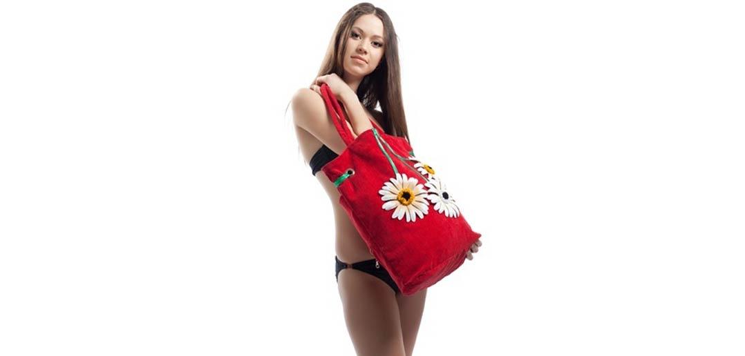 Strandtasche für Damen - Tasche für den Strand