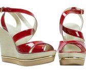 Keilabsatzschuhe oder Schuhe mit Stiletto-, Block- oder Pfennigabsatz?